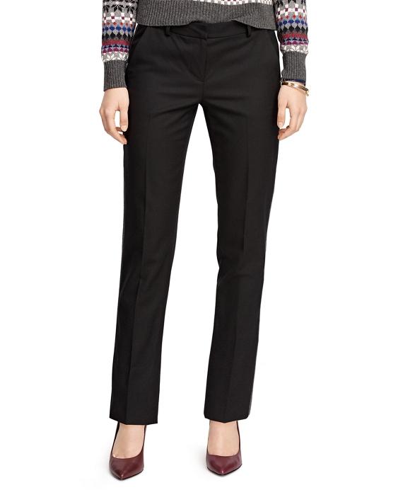 Wool Side Stripe Trousers