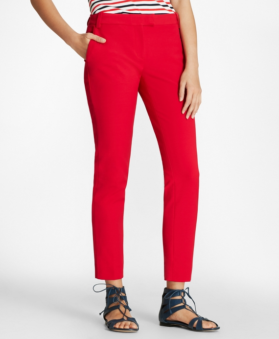 Double-Face Cotton-Blend  Pants