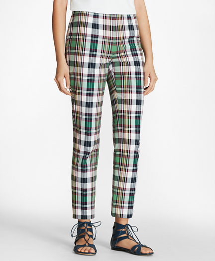 Madras Cotton Pants