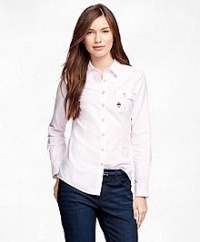 Supima® Cotton Oxford Stripe Shirt