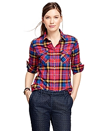 Flannel Tartan Shirt
