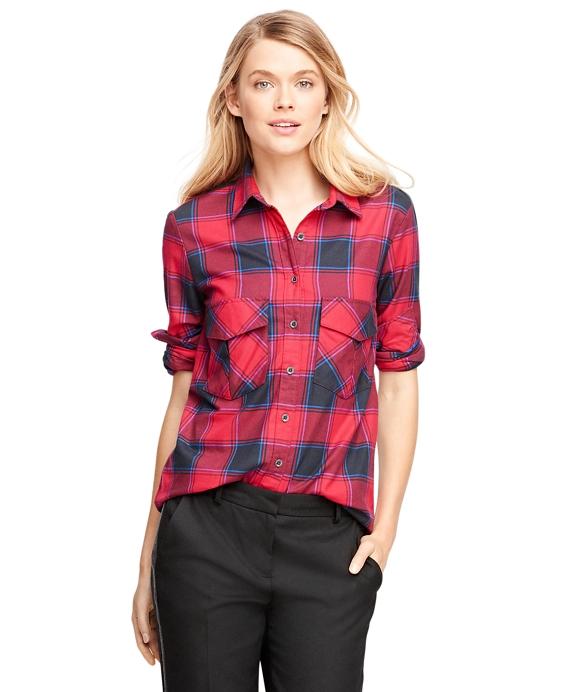Flannel Buffalo Check Shirt