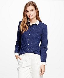 Cotton Dobby Dress Shirt