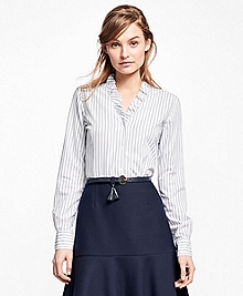 Nine-to-Nine Striped Shirt