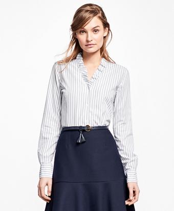 Nine-to-Nine Striped Shirt
