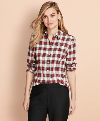 Tartan Cotton Flannel Shirt