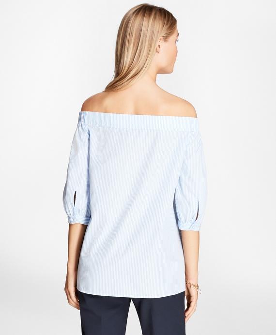 Light Blue-White