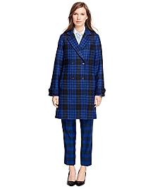Wool Tartan Coat
