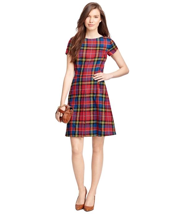Wool Tartan Dress