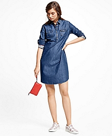 Denim Pullover Dress