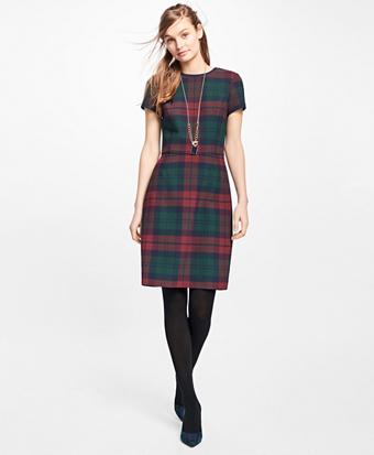 Tartan Double-Faced Dress
