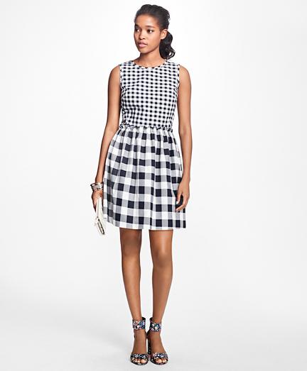 Sleeveless Stretch-Cotton-Twill Dress