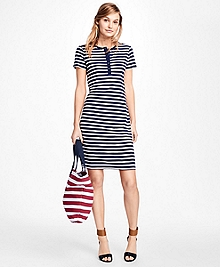 Striped Tee Shirt Dress