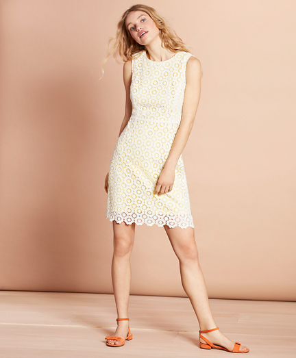 Cotton Crochet Lace Dress