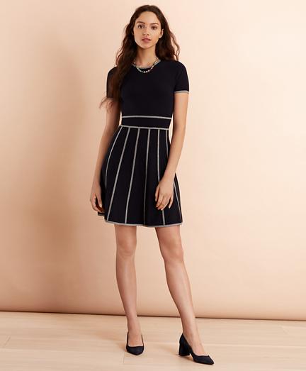 Milano-Knit Sweater Dress