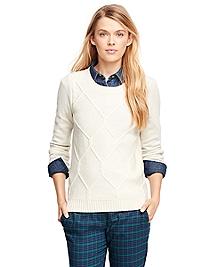 Lambswool Fisherman Sweater