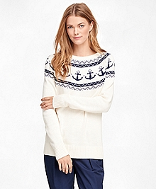Cotton Fair Isle Sweater