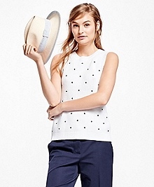 Cotton Sleeveless Sweater