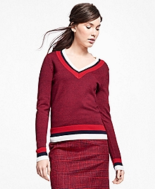Merino Wool Tennis Sweater