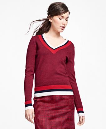 Merino Wool Tennis Sweater