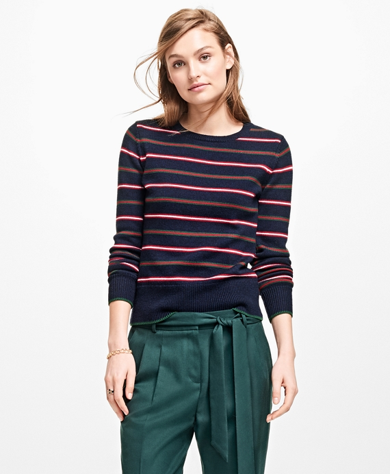 Merino Wool Stripe Sweater