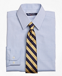 Non-Iron Supima® Pinpoint Cotton Forward Point Dress Shirt