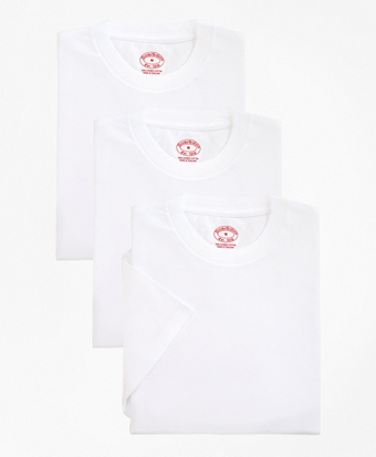 Cotton Crewneck Undershirt - Three Pack