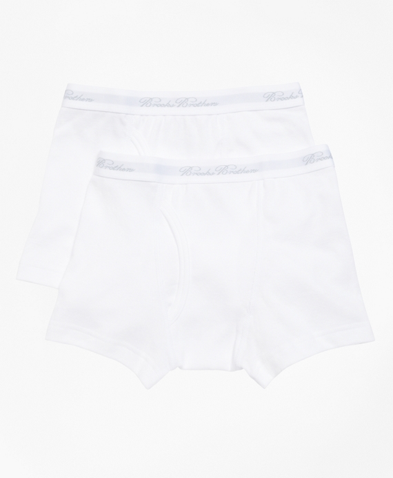 Boxer Brief - Two Pack White