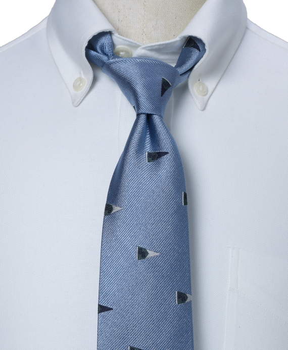 BB Pennant Tie Blue