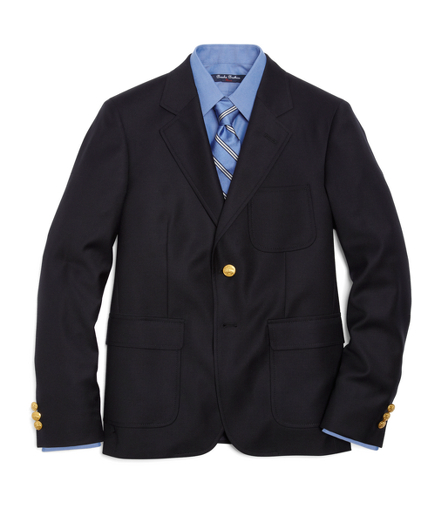 Two-Button Prep Blazer