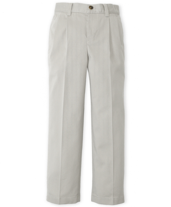 Pleat-Front Non-Iron Chinos Stone