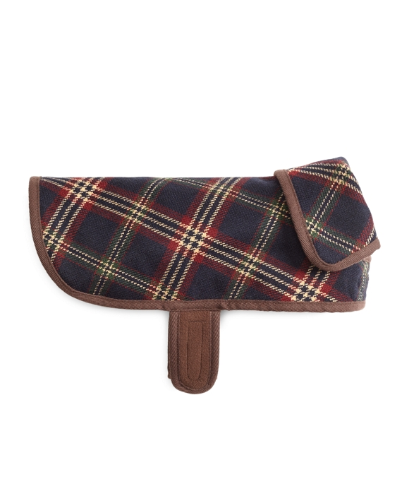 Signature Tartan Dog Jacket Navy