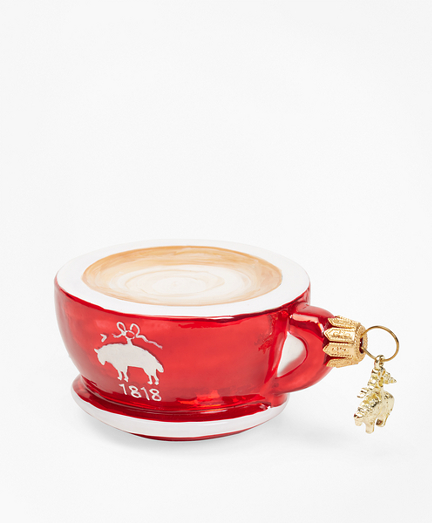 Red Fleece Cup Ornament