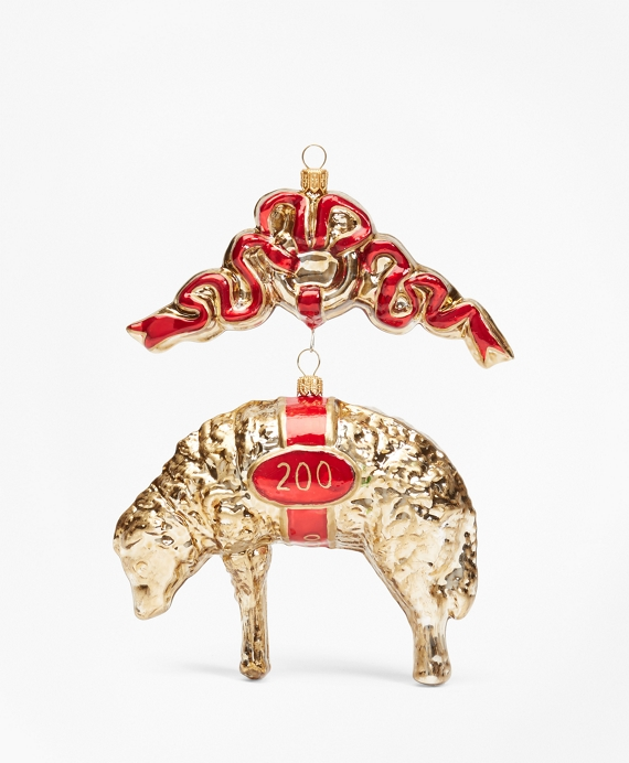 Limited-Edition 200th Anniversary Golden Fleece® Ornament