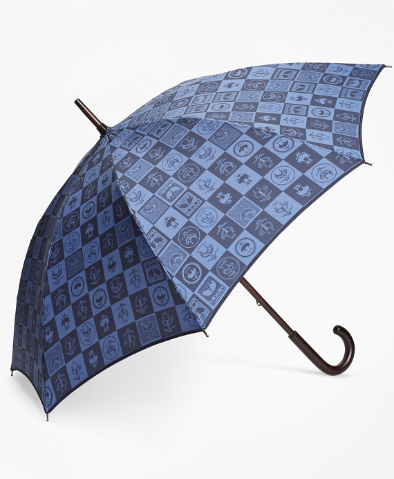 200th Anniversary Special Edition Navy Stick Umbrella by Brooks Brothers