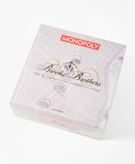 200th Anniversary Brooks Brothers Monopoly Game by Brooks Brothers
