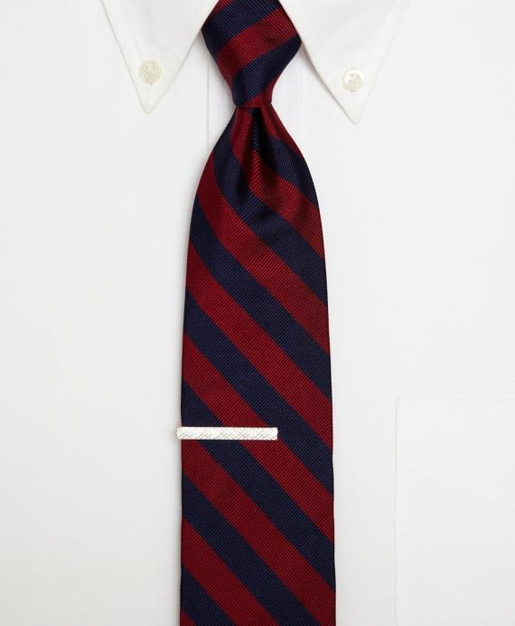 Men S Sterling Silver Crisscross Tie Bar Brooks Brothers