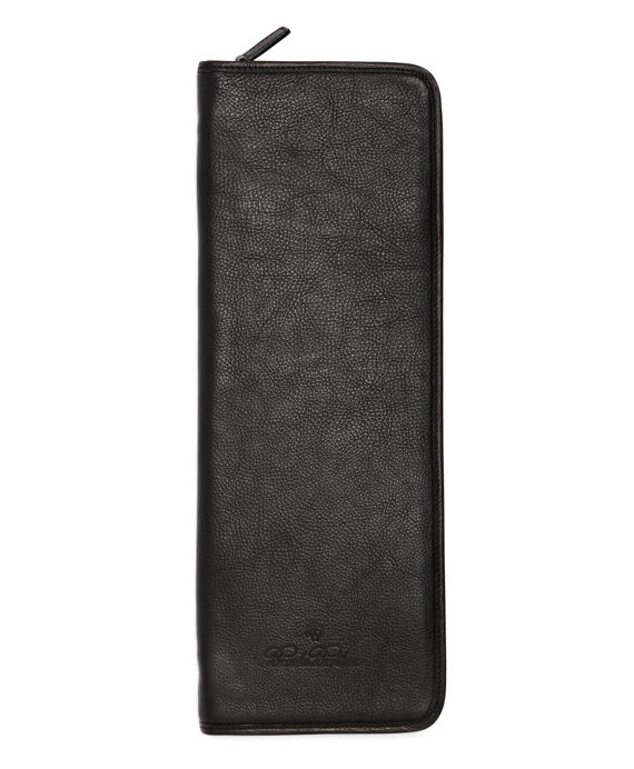 Leather Tie Case Black