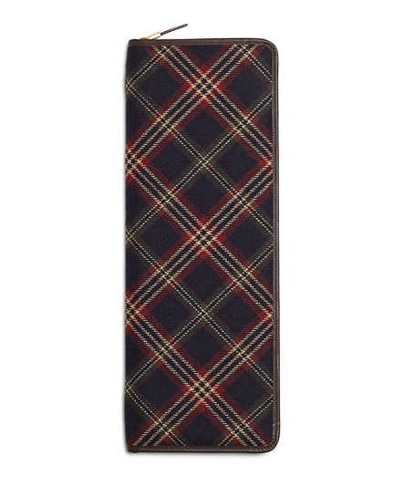 Brooks Brothers Signature Tartan Tie Case