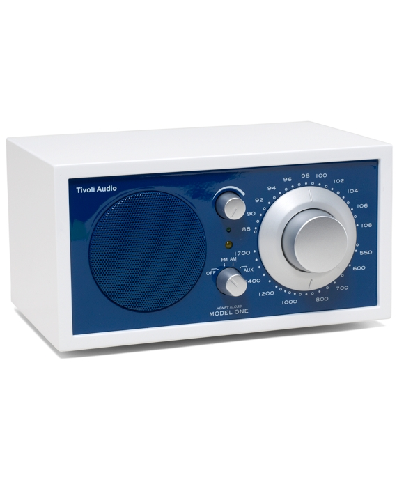 Tivoli Radio - Tivoli Frost White Collection Model One White-Blue