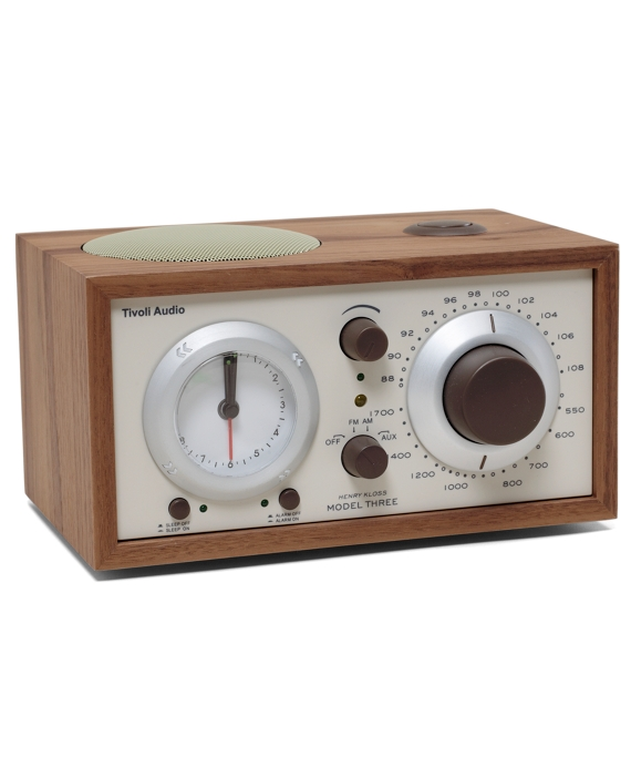 Tivoli Radio - Tivoli Model Three AM/FM Radio Walnut