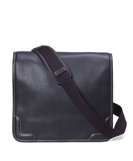 Pebble Leather Messenger