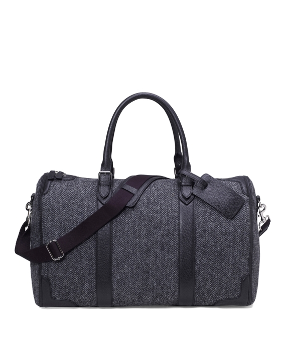 Tweed Duffel Bag Black