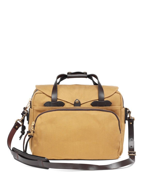 Filson® Twill Padded Computer Bag Tan
