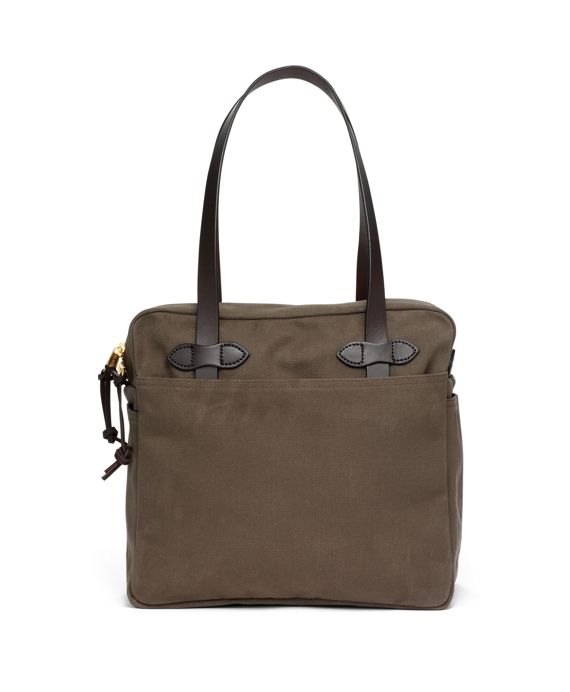 Filson® Medium Zippered Tote Bag Olive
