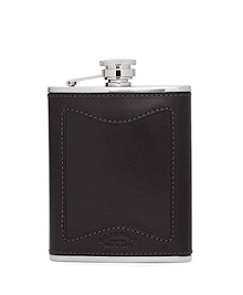 Filson® Leather and Stainless Flask