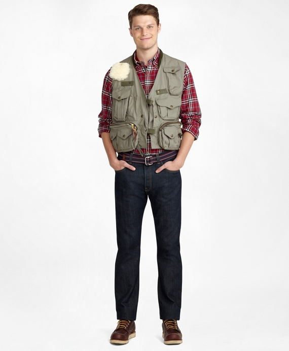 Filson® Fly Fishing Vest Green