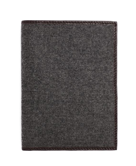 Flannel Passport Grey