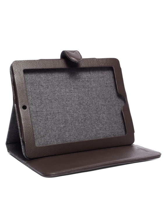 Flannel Tablet Case Grey
