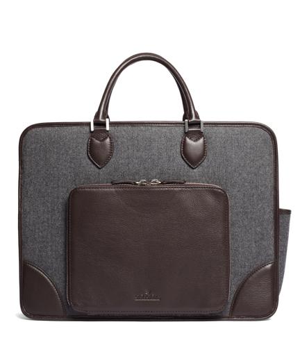 Wool iPad Briefcase